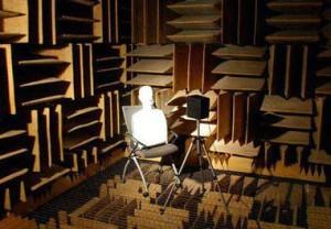 De 'dode kamer' is de stilste plek op aarde