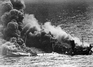 800px-Allied_tanker_torpedoed-300x216