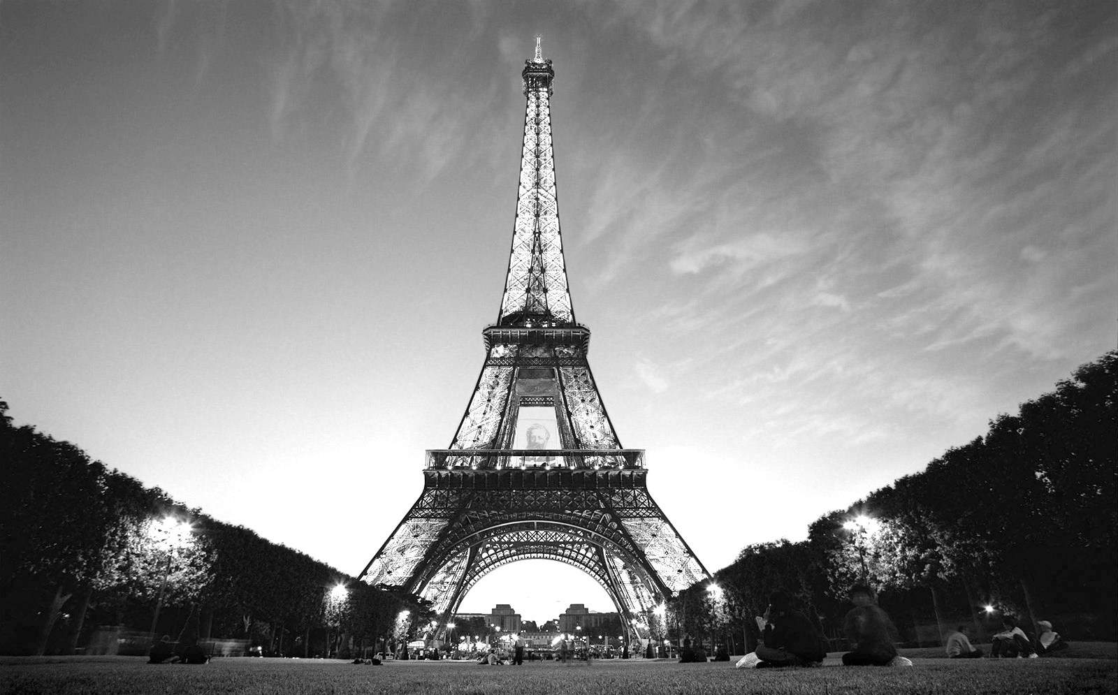 Eiffel Tower Paris Black And White Photos 17 Wtnschpbe