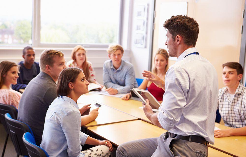 Dialoog in de klas