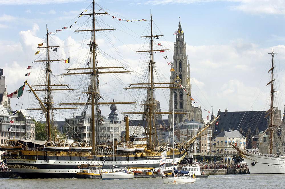 Amerigo Vespucci in Antwerpen