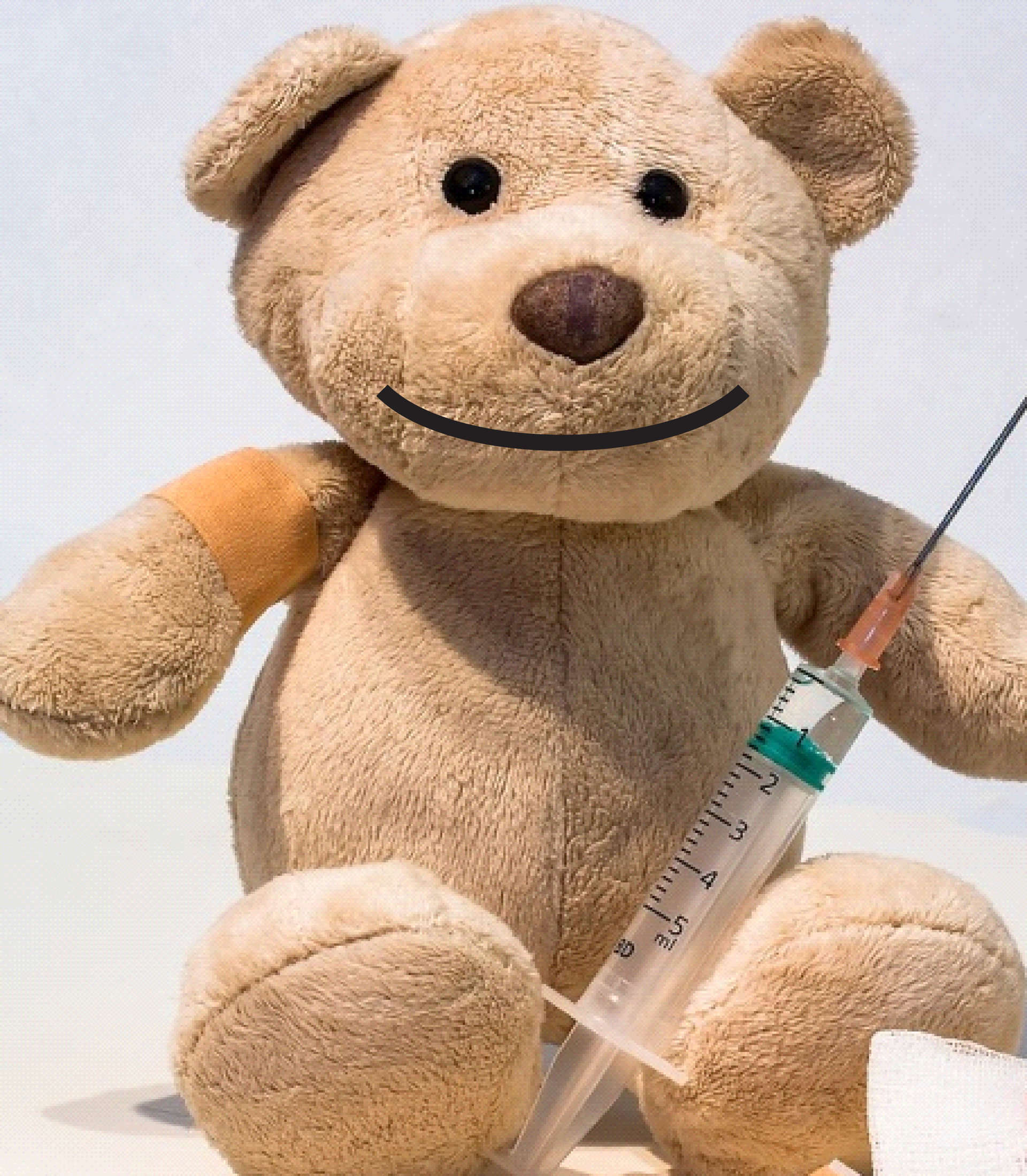 Vaccination teddy