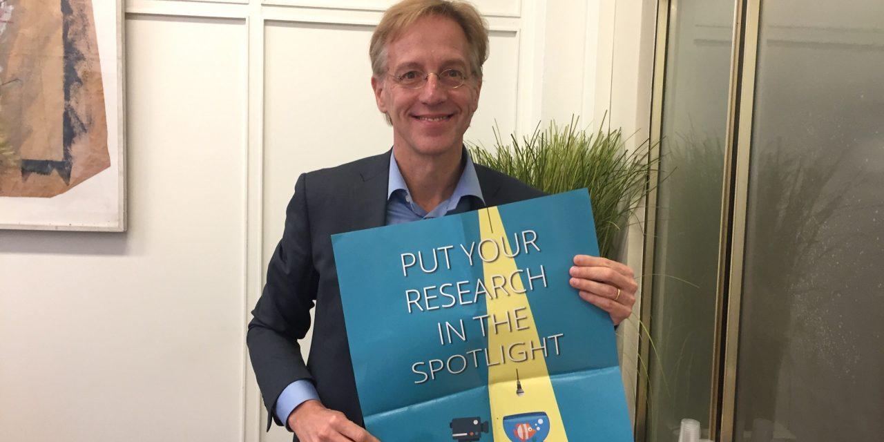 VUB-eredoctor Robbert Dijkgraaf over wetenschapscommunicatie
