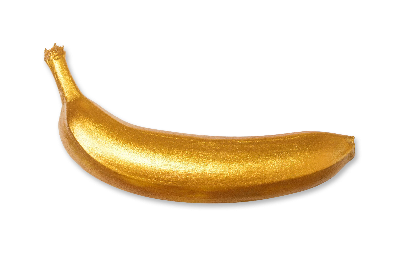 gouden banaan (shutterstock)