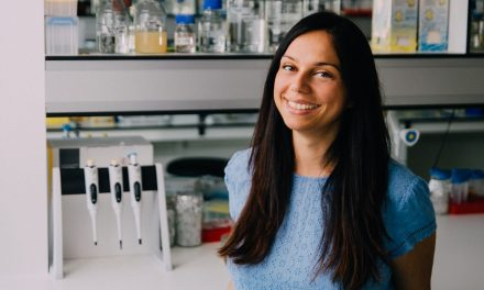 Meet Antonella. Dreamer, mom and … top scientist.