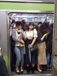 drukke metro