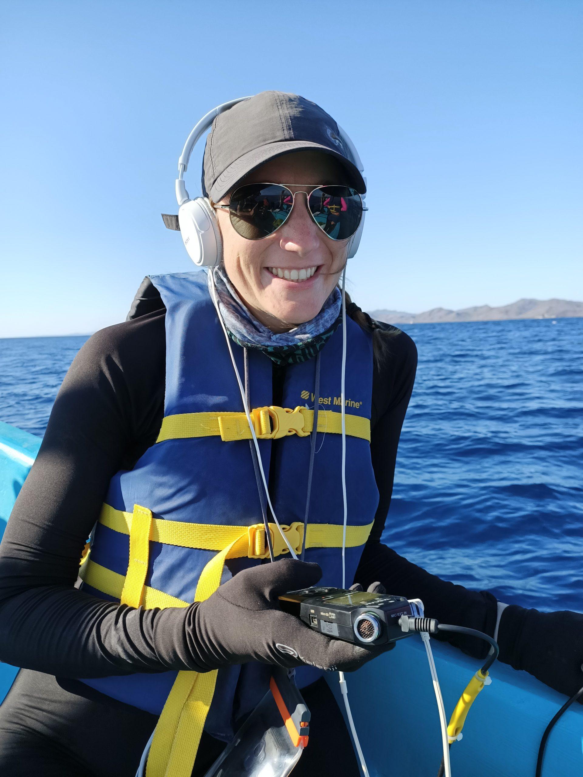 collecting data in the field - Joëlle De Weerdt