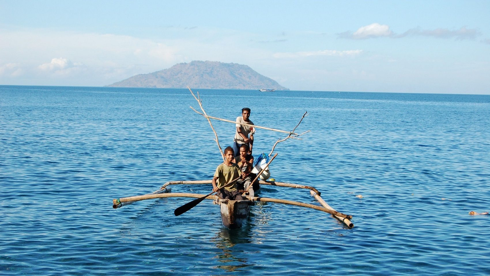 Omgeving van de Alor-Pantar eilanden. (Foto: Marian Klamer)